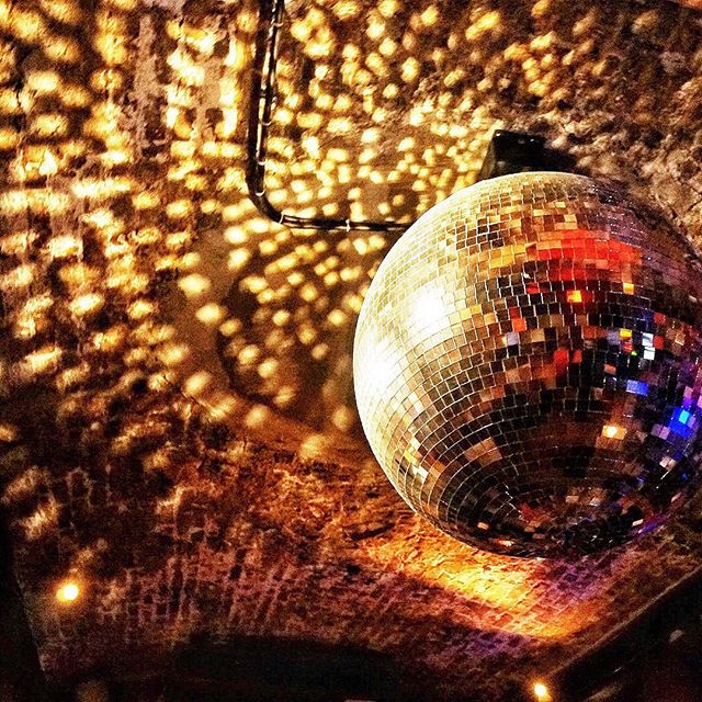 Follow the call of the disco ball.