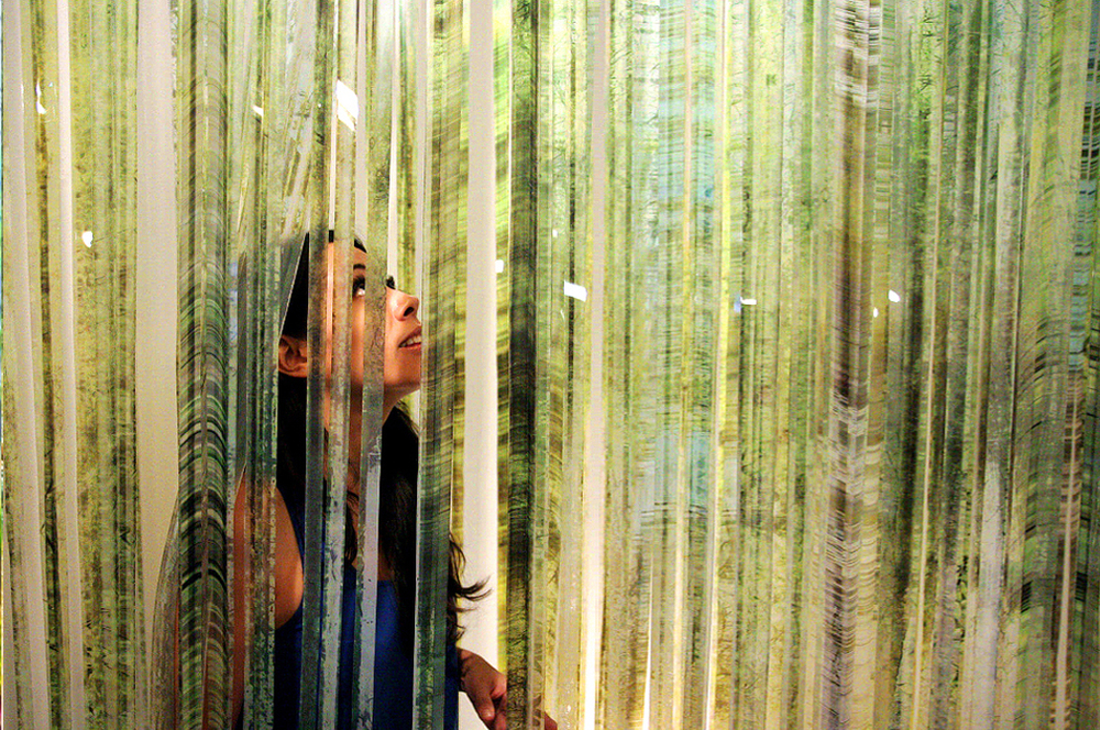 Urban Forest, Hazy Yet Vivid Exhibit
