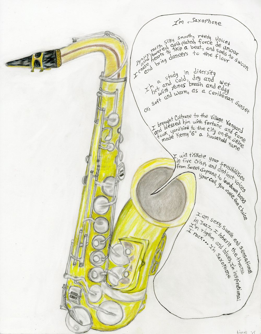 Lionel W. - I Am Saxophone
