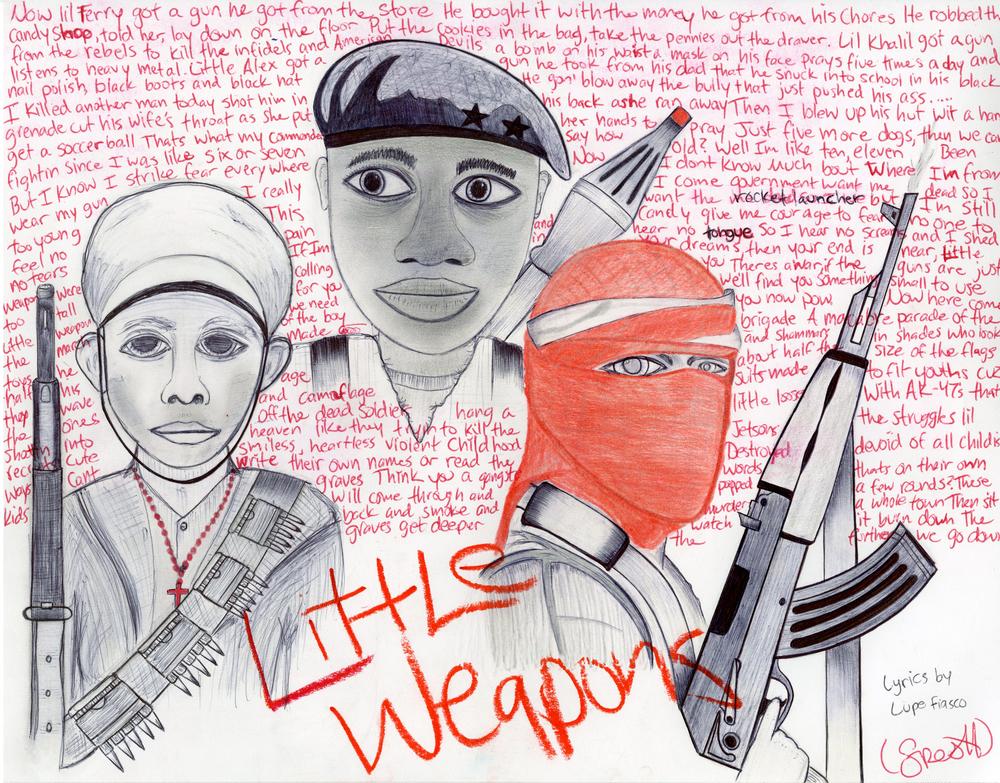 Michael K. - Little Weapons