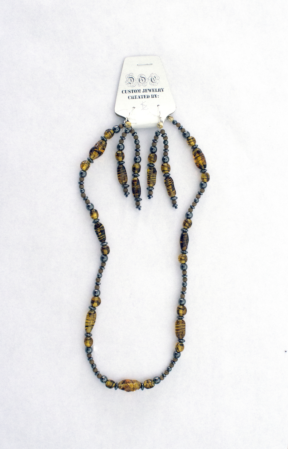 Shannon L. - Beaded Necklace