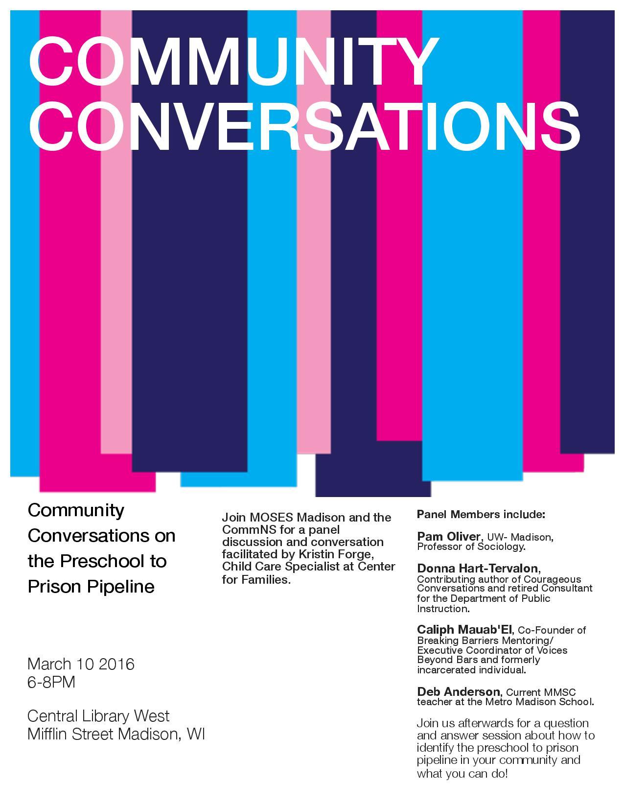Partner Event: MOSES — Community Conversation on Preschool