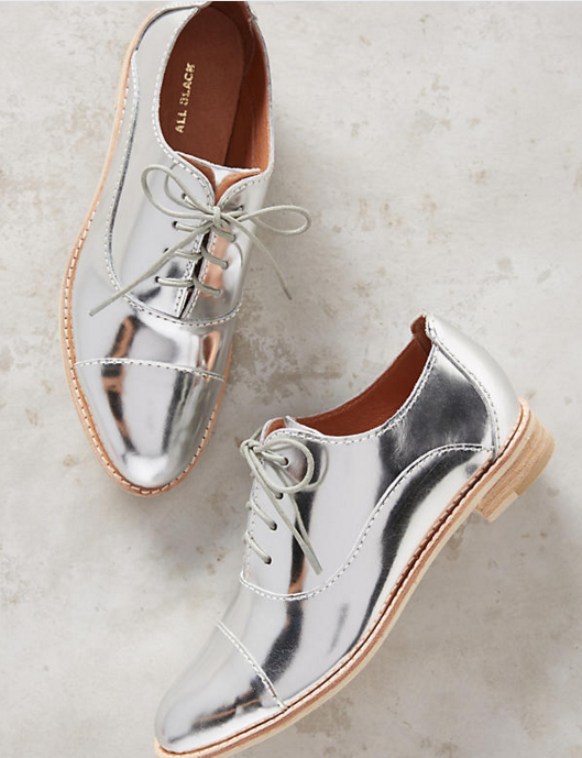 soi 55 silver fashion finds metallic silver mirror shoes