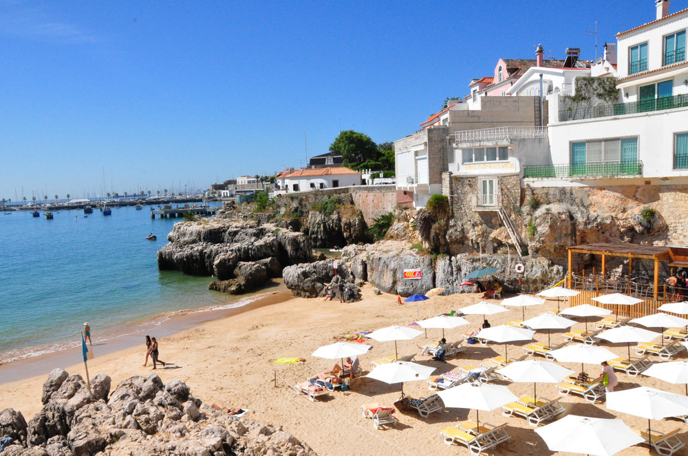 Praia de Rainha Cascais - 48 hours in Lisbon | a Portugal Travel Guide by Soi 55