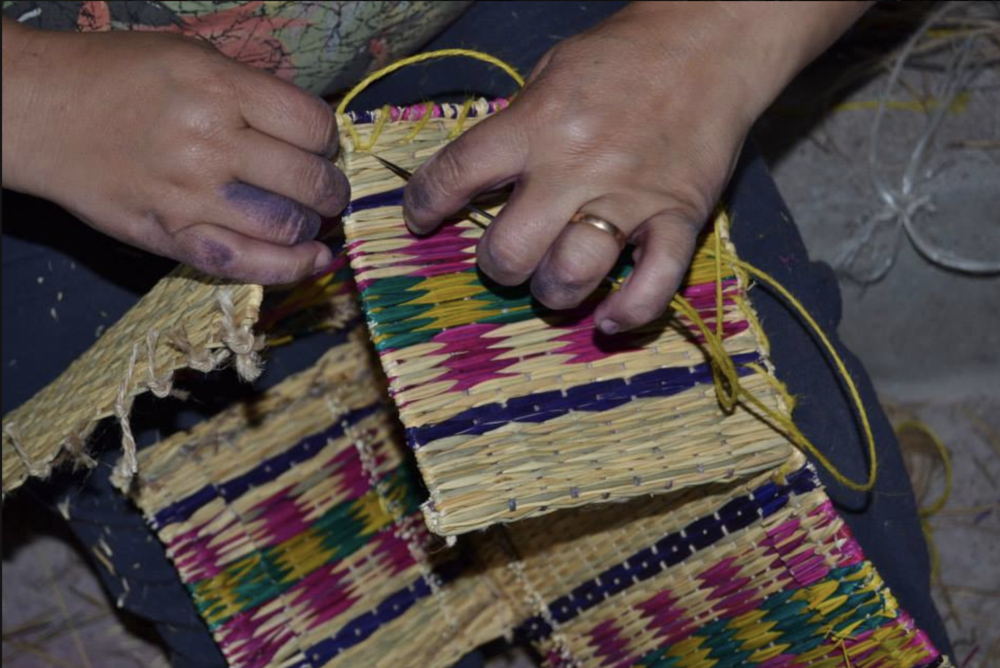 Soi 55 Portuguese basket bag. Handmade by artisans.