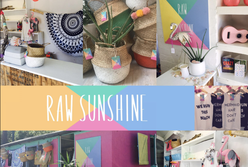 Raw Sunshine, Abersoch | Soi 55 stockists