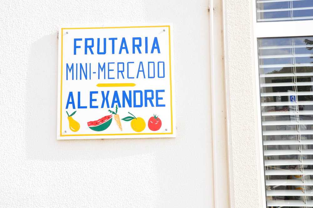 Hand-painted fruit sign | A  day in Tavira  | Algarve, Portugal | Soi 55 Travels