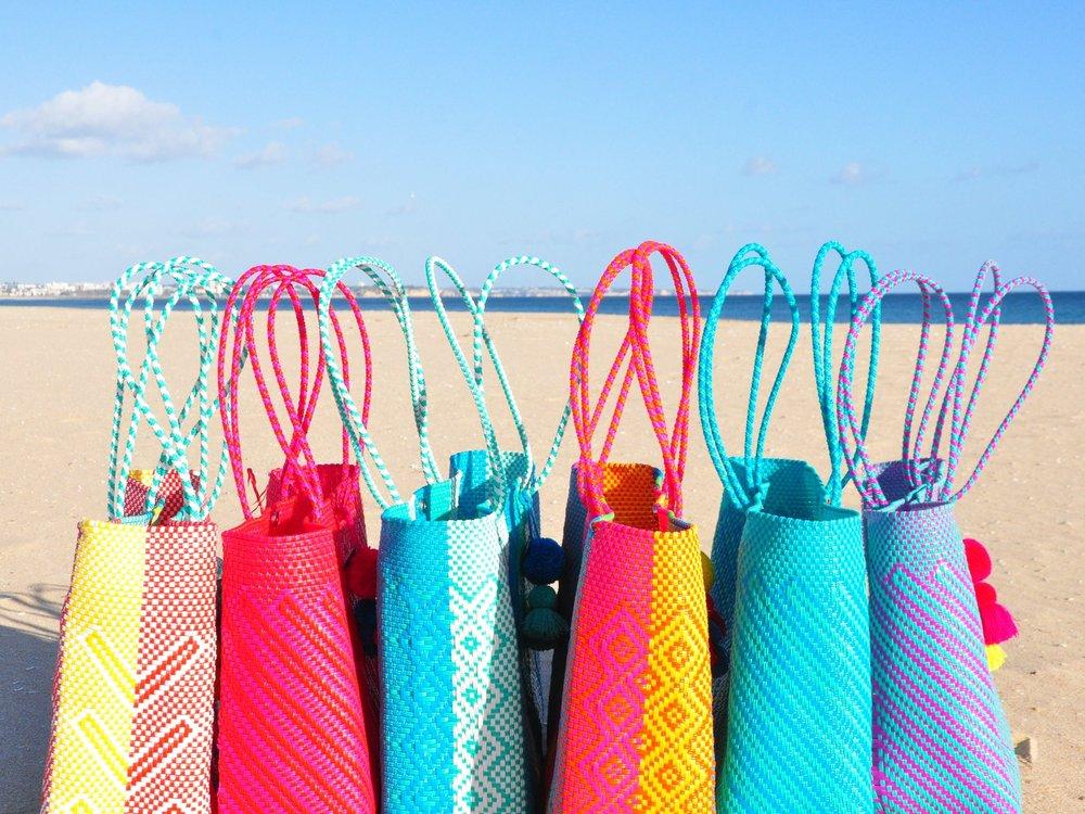 Lolita+recycled+plastic+beach+bags+%7C+Soi+55