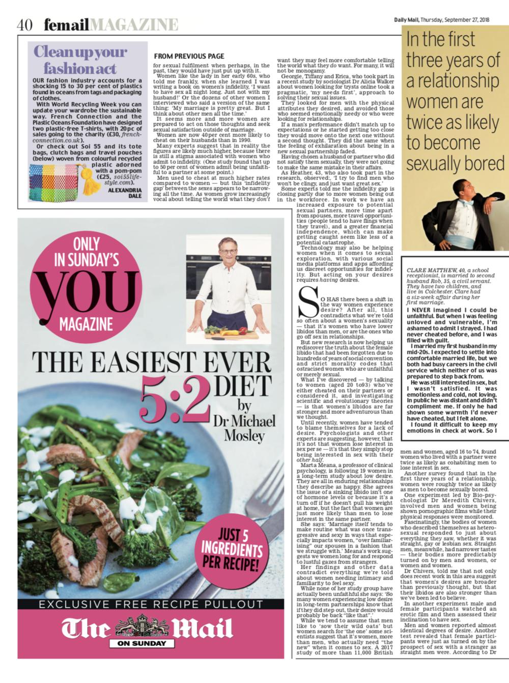 Femail, Daily Mail | Press | Soi 55