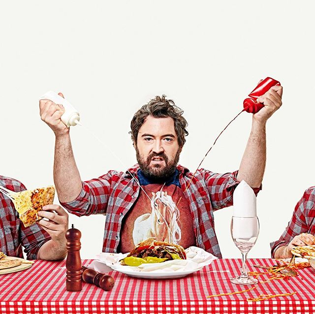 Our new series Eat Your Heart Out with Nick Helm starts on Aug 24th @ 8pm on Dave. So much more than another food show...