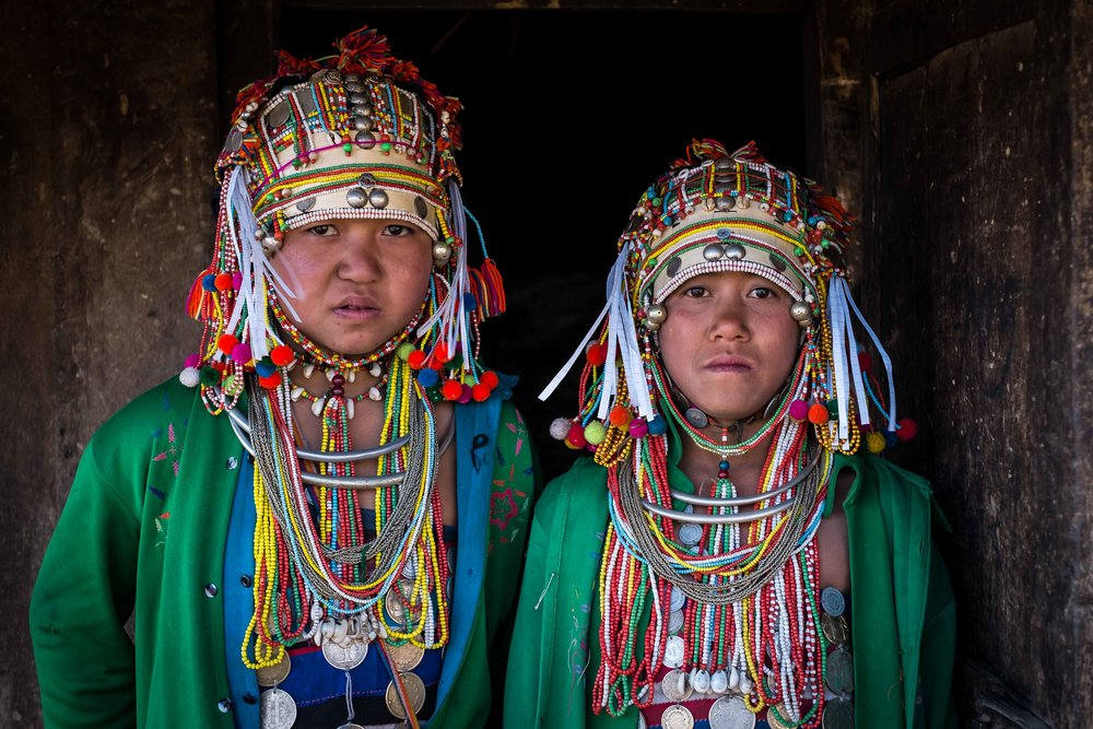 The Akha tribe