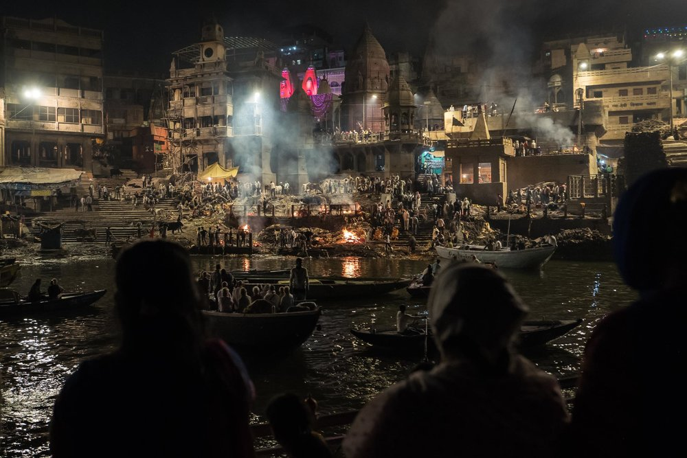 Manikarnika Burning ghat
