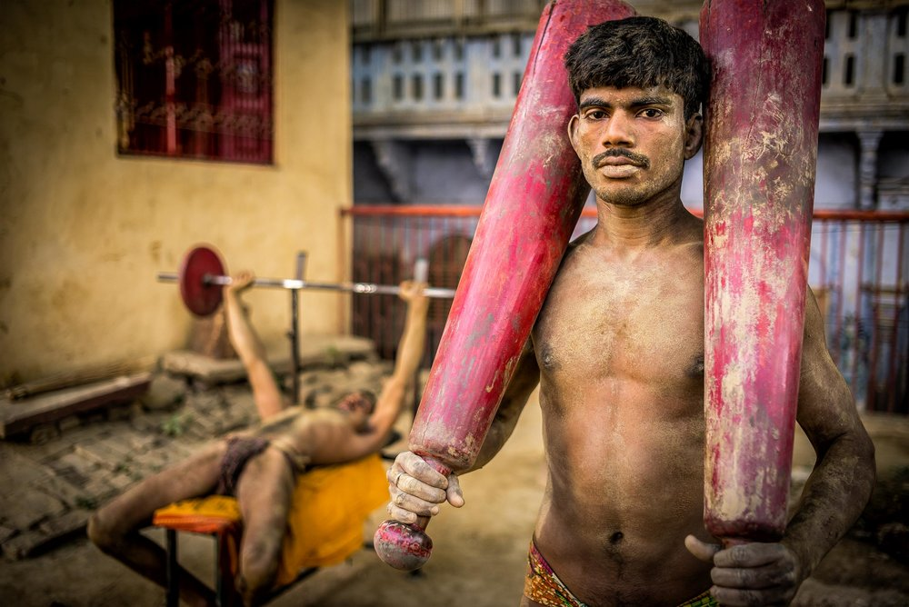 Kushti fighters