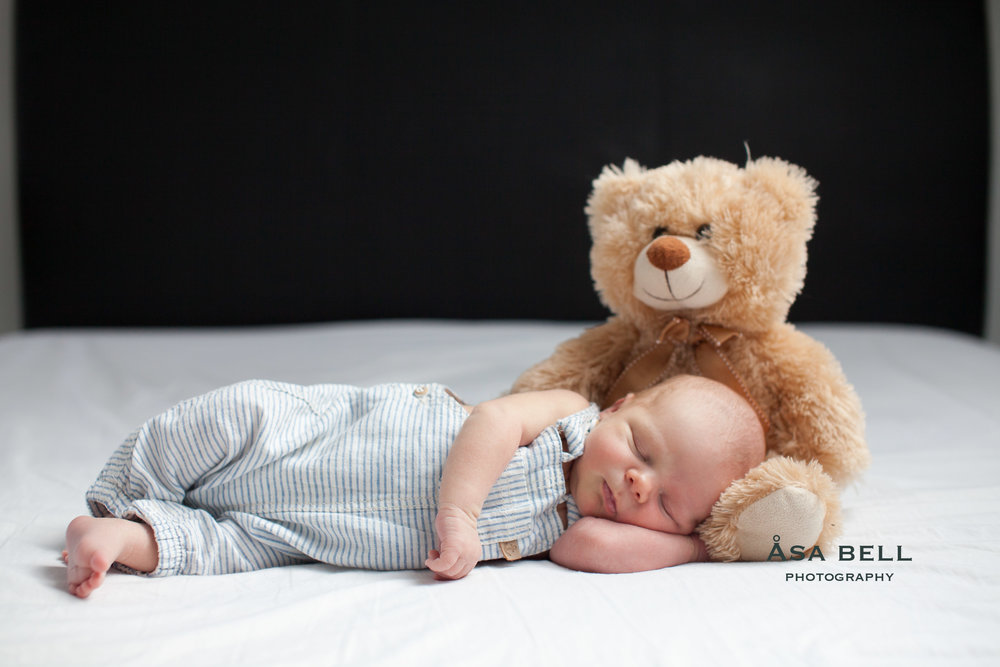 newborn photographer london baby boy teddy