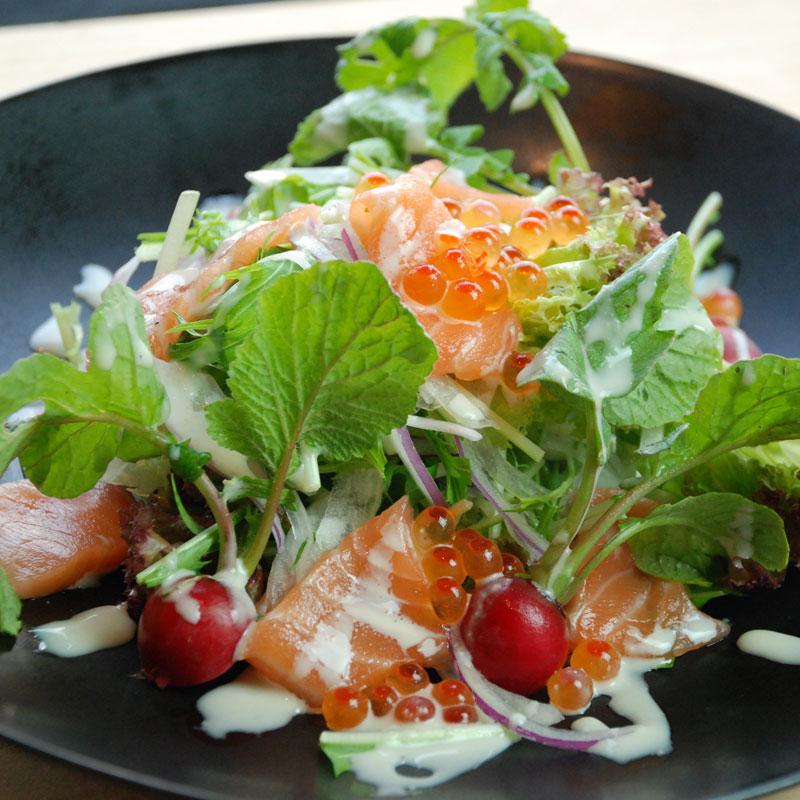 MaguroDonya Singapore | Salmon Ikura Salad