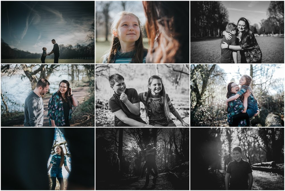 A recent mini session with The Yarwood Family at Marbury Park.