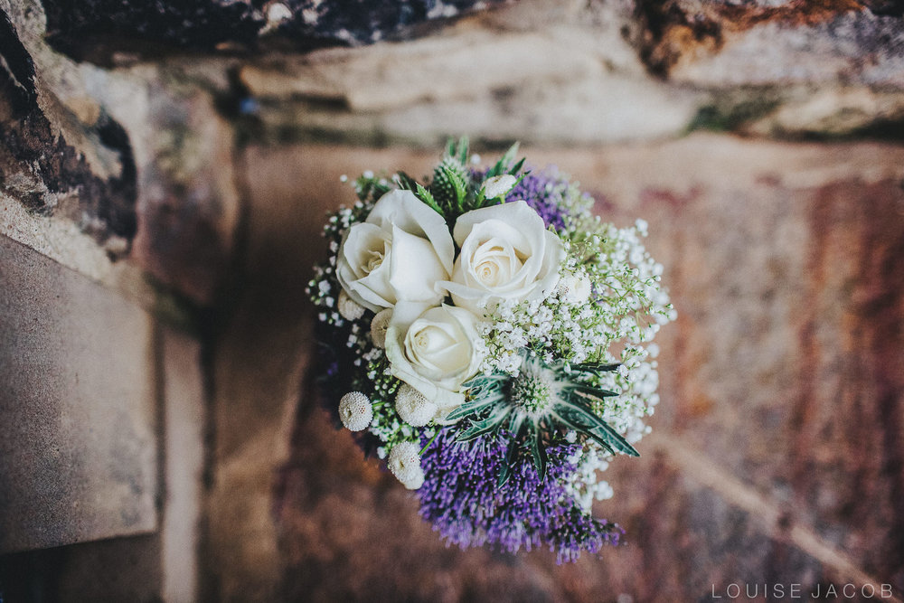 Documentary Wedding Photography - Bridal bouquet