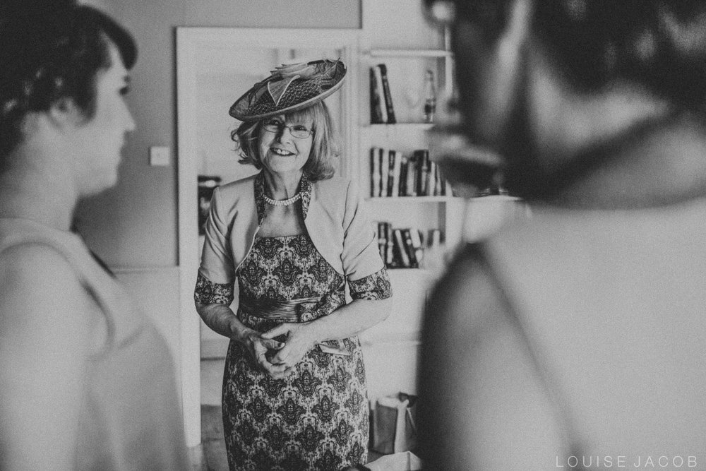 Documentary Wedding Photography mother of bride and bridesmaids
