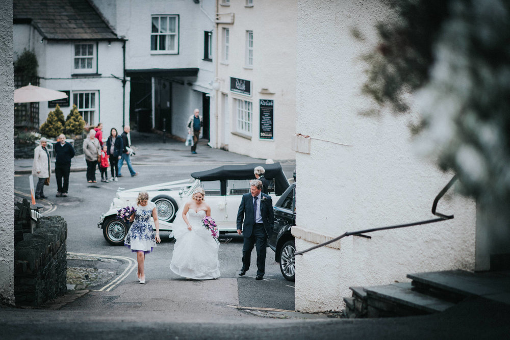 Ceremony by Cheshire Unposed Documentary Wedding photographer Louise Jacob