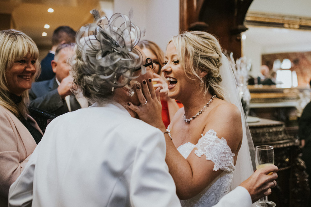 Documentary Wedding Photography bride with mother of the groom