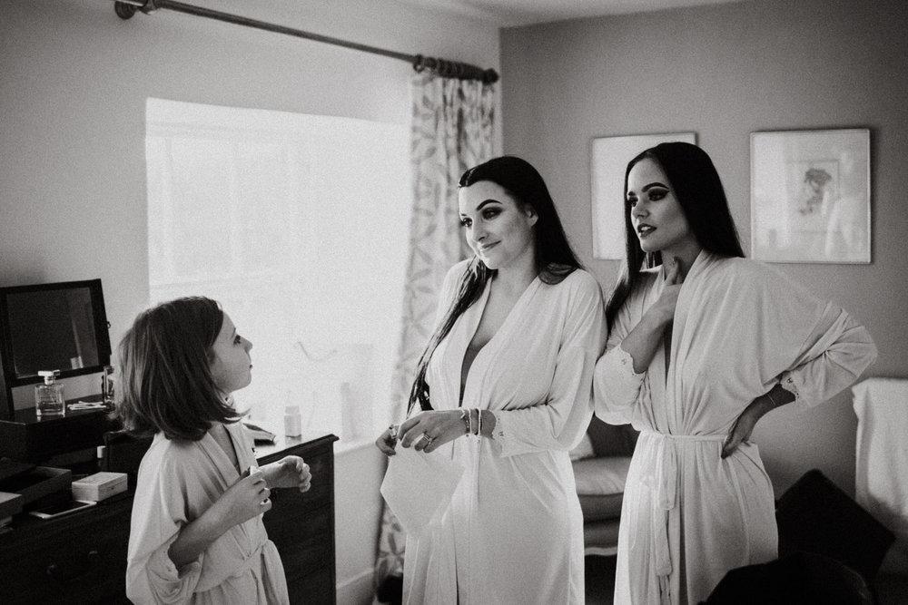 Wedding Photojournalism - bridesmaids