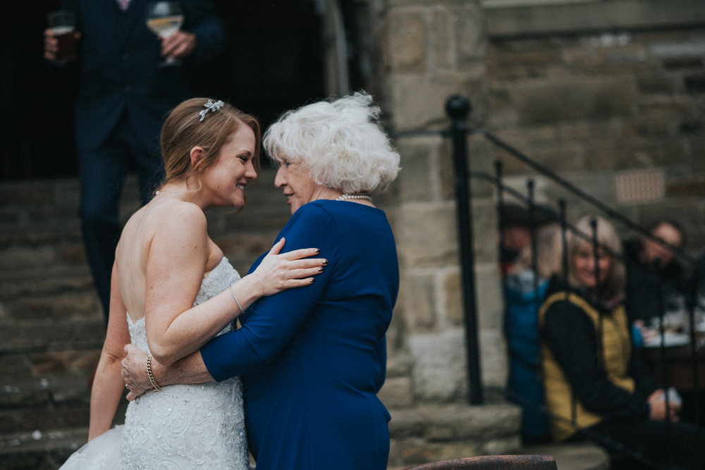 Cheshire Documentary Wedding Photography in Burnsall, Yorkshire Dales