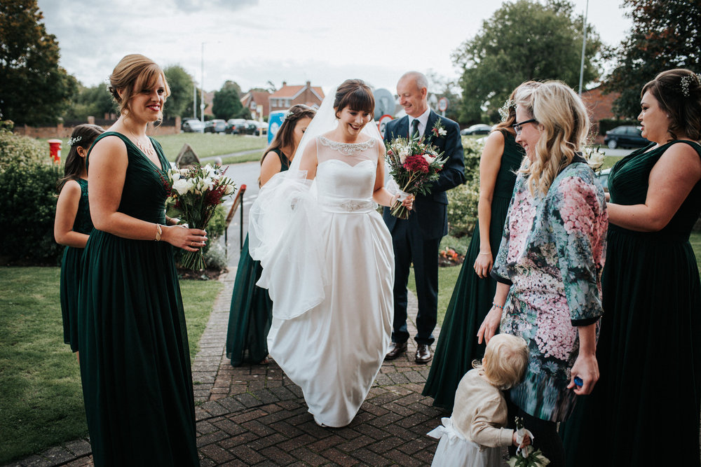 Cheshire Documentary Wedding Photography in Dunham Massey