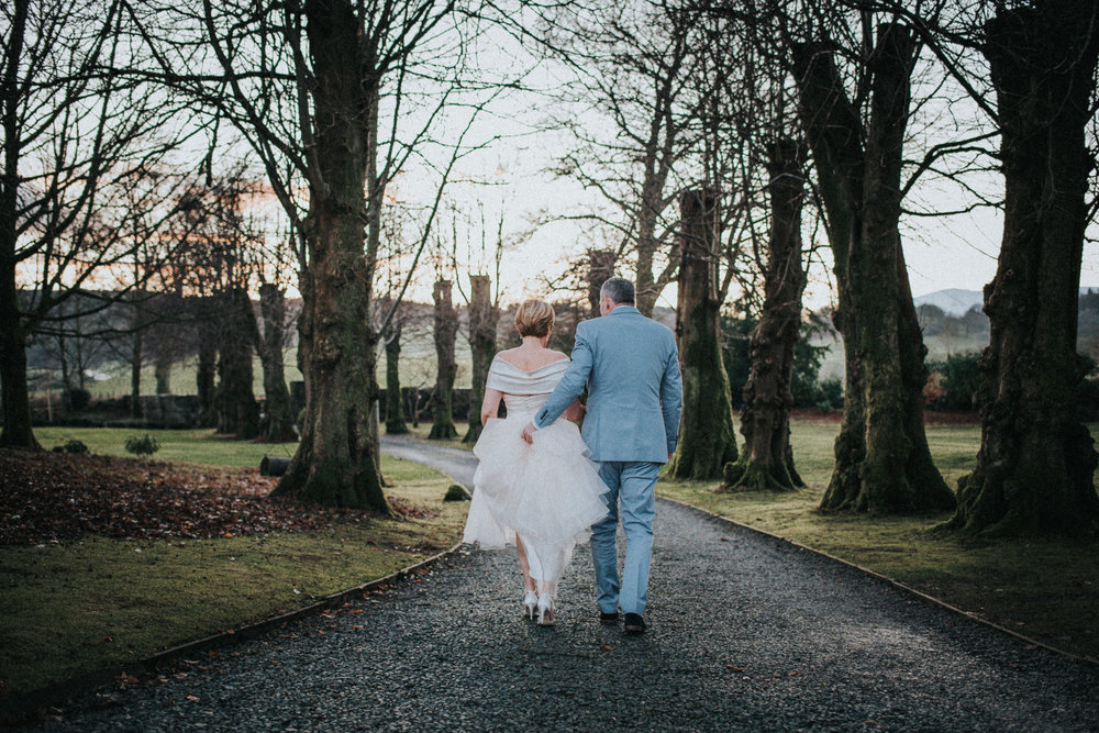 Cheshire Documentary Wedding Photography at Belmount Hall, Lake District