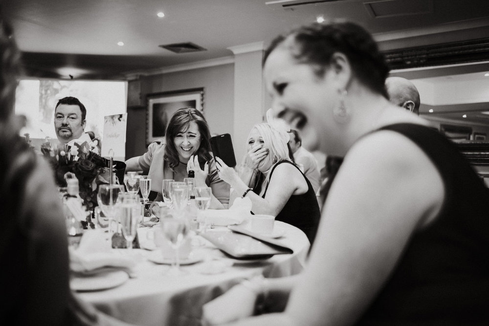 Cheshire Documentary Wedding Photography at The Stone House Hotel