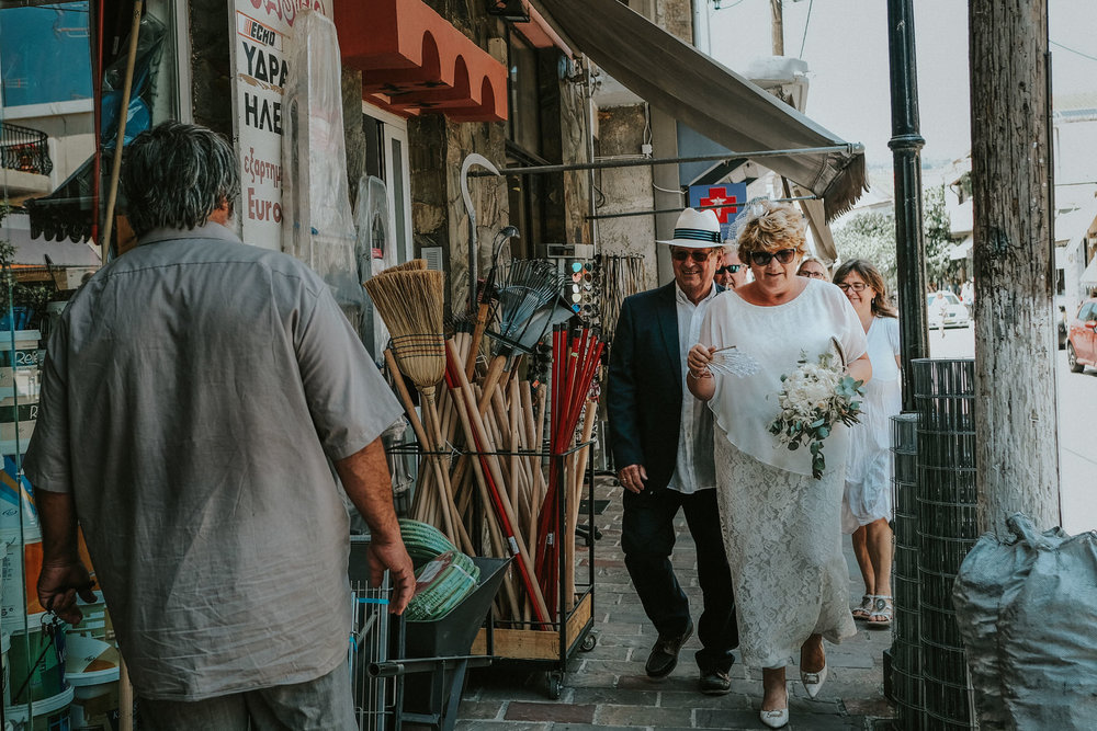 Cheshire Documentary Wedding Photography in Crete