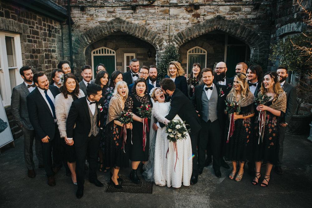 Wedding Photojournalism - Cheshire Wedding Photographer in Wales.