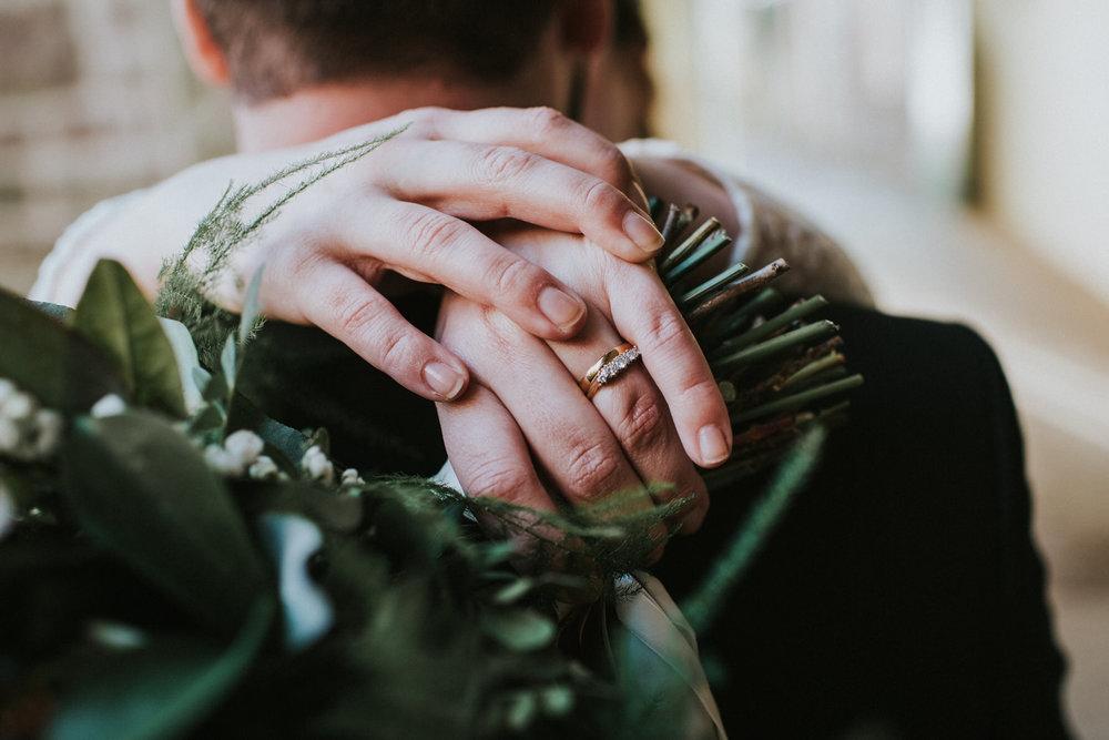 Wedding Photojournalism - Brides wedding ring