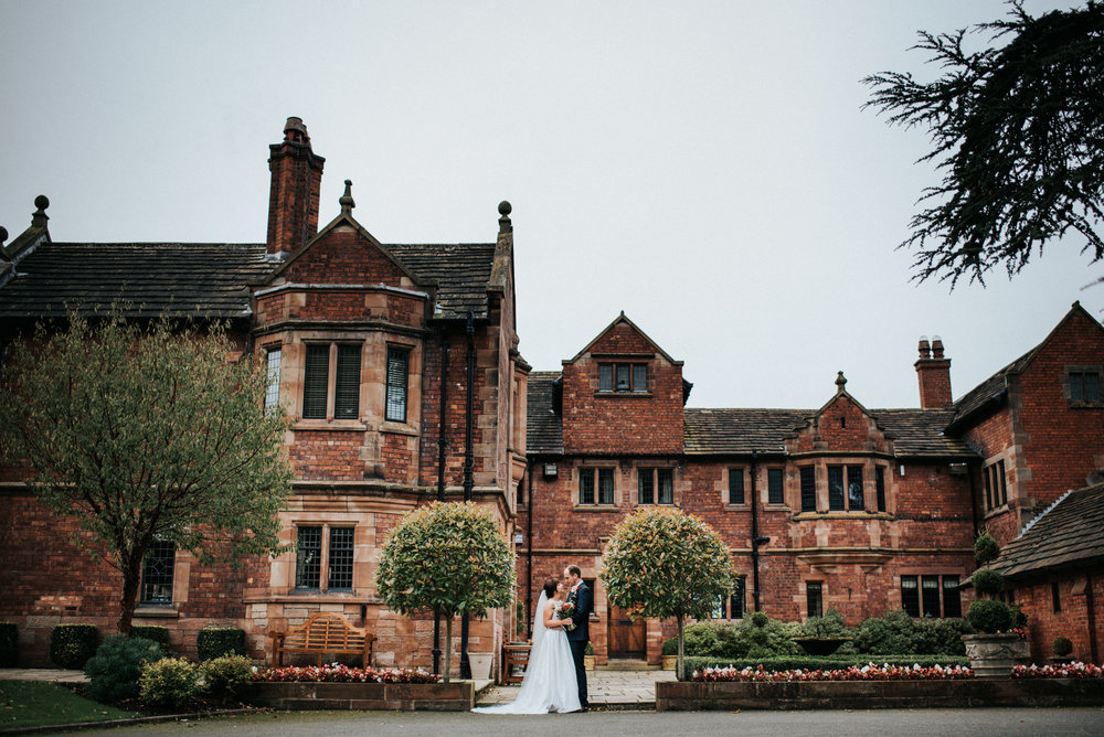 Cheshire Unposed Documentary Wedding Photography at Colshaw Hall