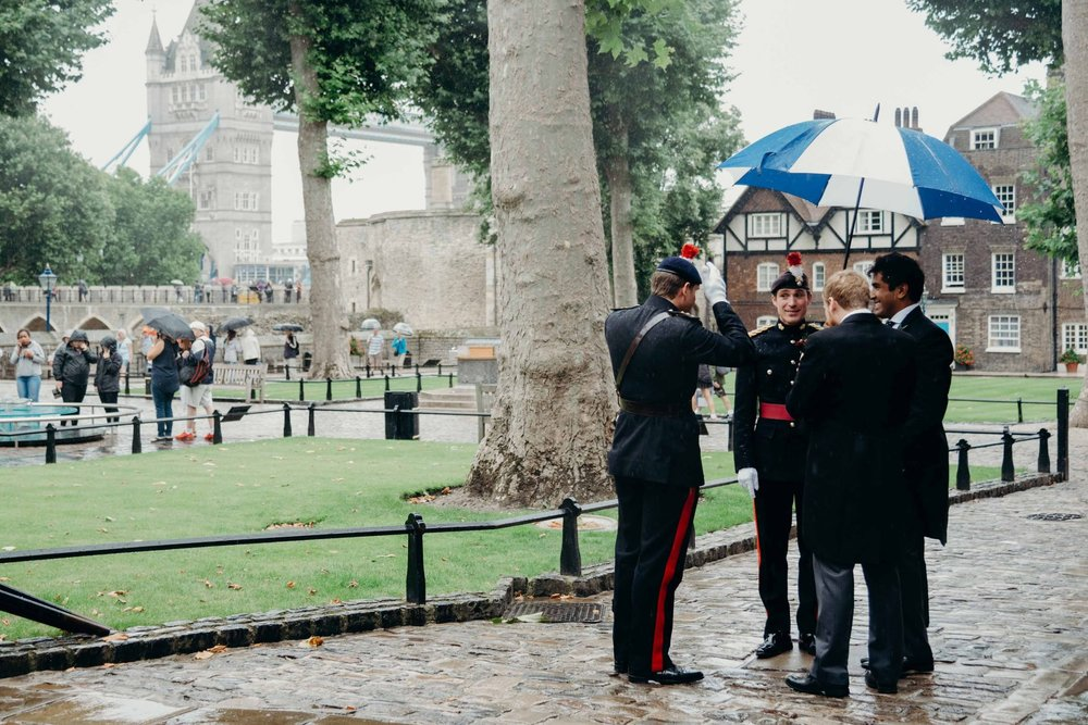 Cheshire Wedding Photography at The Tower Of London