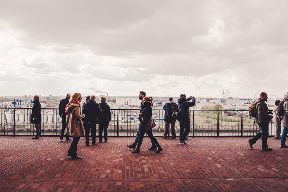 Die Plaza in der Elbphilharmonie