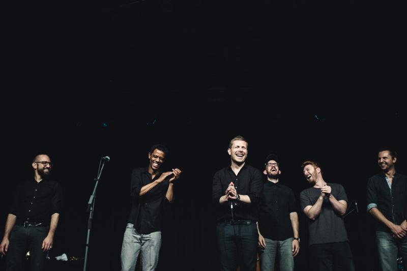 Konzertfoto von Nils Wülker und Band
