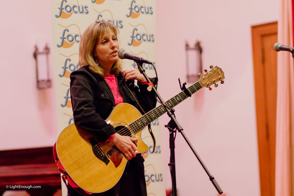 Susan Greenbaum opening for Anne Hills FOCUS Concert
