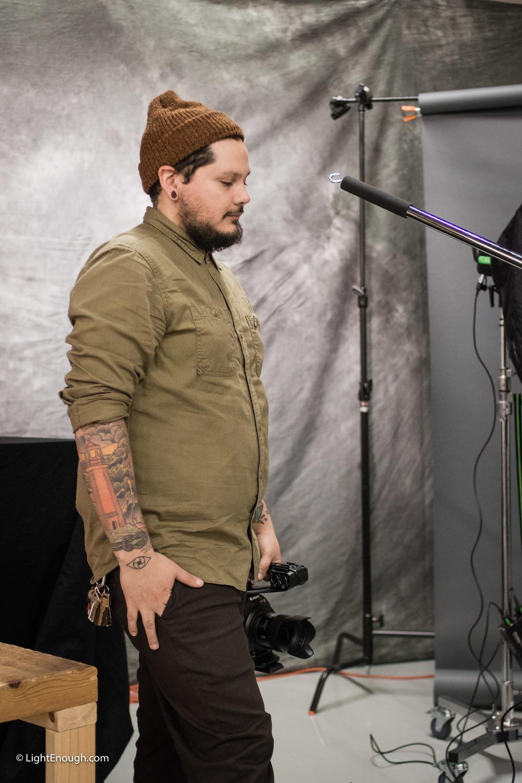Christian Zuniga, Photo Assistant