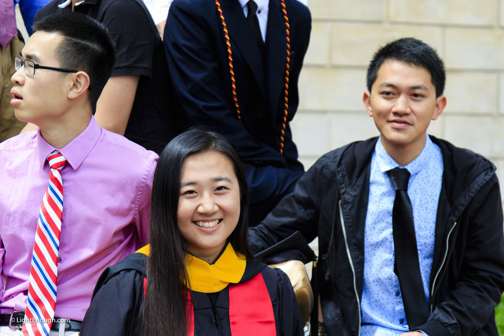 Confident New Graduates
