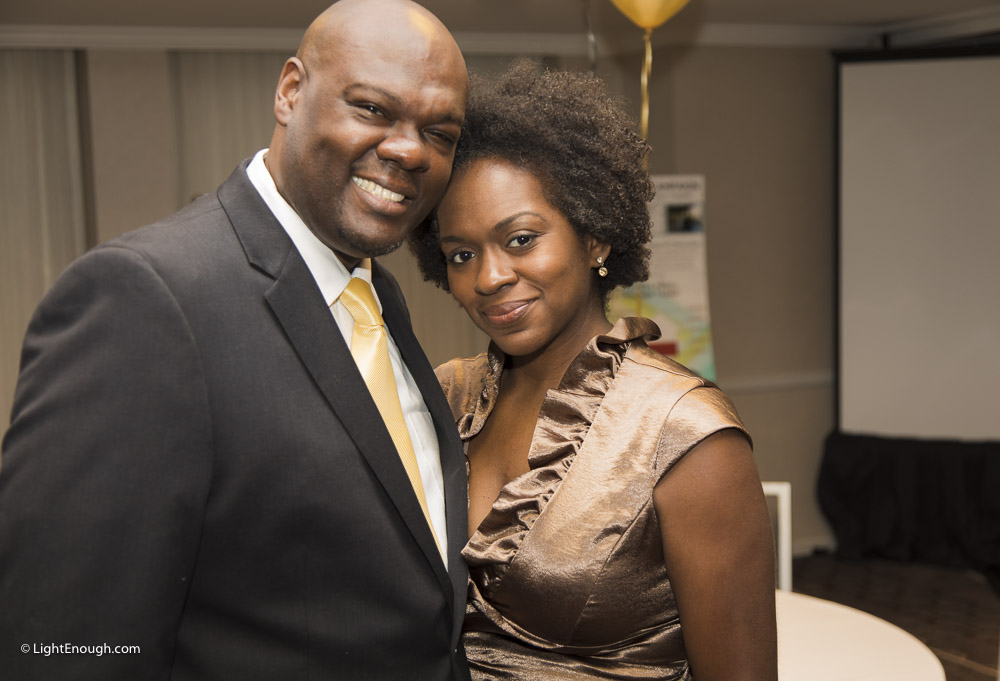 Mr. and Ms. Sam Kelly at the Bridges to Independence Black & Gold Gala May 19, 2017. Photos by John St Hilaire of LightEnough.com
