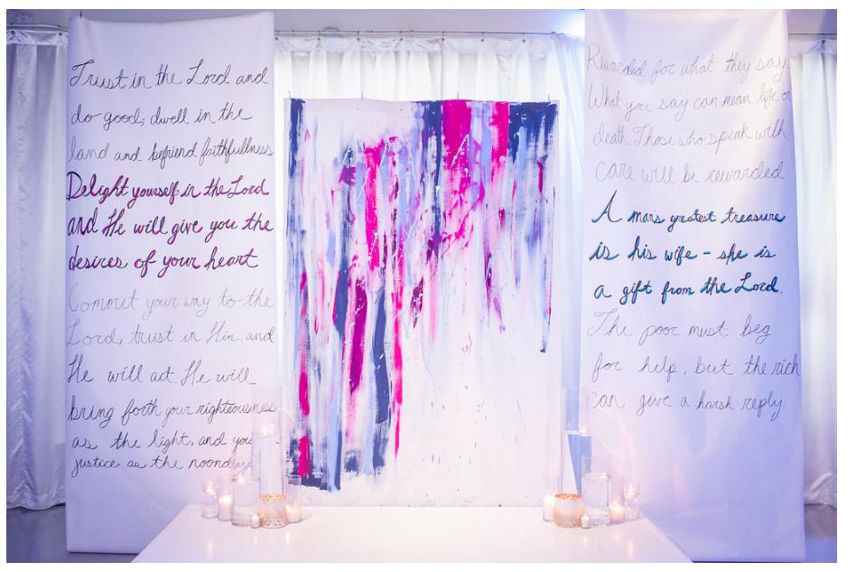 Ceremony - Venue: Heaven Event Venue in Orlando | Decor: Everlasting Events | Eternal Light Photography