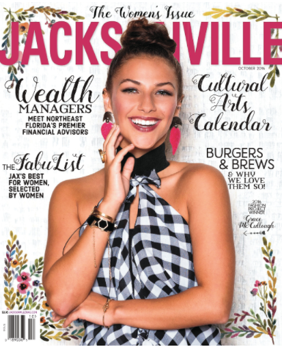 Our first event, Fall in Love: DIY Terrarium Workshop was featured in Jacksonville Magazine's October 2016 issue on page 34 -