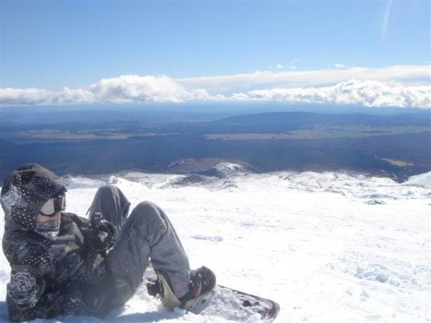 High Traverse - Ruapehu