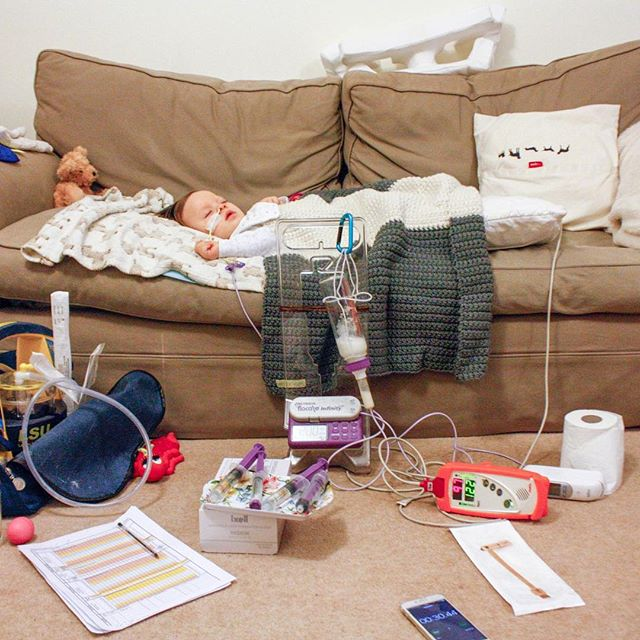 New post on the blog! On managing the bronchiolitis...⠀ ⠀ We're at home, which is more comfortable for Kai (and generally just better for everyone). We've battened down the hatches and are holding fort against bronchiolitis- its hard work hey.⠀ ⠀ I've cancelled all Kai's appointments (six across four days not including the nurse visits. I'm gutted because some were so difficult to arrange!!) and it's just me with my full focus on Kai. I literally haven't left the house since we got back from the hospital. I designed and printed our own observation sheets and we do them mostly every hour. The benefits of design skill, hey? Mostly so I can see at a glance how Kai's doing, and fend off anything before it happens. He's managing, but it's clear it's a struggle. Poor little guy.⠀ ⠀ Kai requires regular suctioning out his nose and mouth, which is horrid for us both. It's literally me suctioning the goopy flem out from his nose and the back of his throat. It's thick and horrid and watching it go down the tube makes me want to gag. But Kai always breathes better after, so we do it. Not too often because we don't want his body to go into overdrive and make more, just when he's struggling. It's pretty gross – but hey ho. The things we do.⠀ ⠀ We haven't needed oxygen yet (thank goodness) but his temp keeps going up, and when it does his heart rate and respiratory rate skyrocket. I'm trying to manage it with Calpol (the magic drug for babies) but watching the fever bounce up and down makes me feel like I'm in a never-ending loop.⠀ ⠀ Observations, meds, chest percussions, feeds, suction, nappy change, seizures.⠀ ⠀ More on the blog, including the inevitable end, and what my observation sheets look like and more photos of Kai's beautiful face. ⠀ ⠀ #linkinprofile👆🏻 ⠀ ⠀ ⠀ #nkhawareness #nkhcansuckit #nkhfighter #specialNeedsParents #nonketoticHyperglycinemia #glycineencephalopathy #raredisease #specialneedsbaby #moreMoneyMoreResearch #scienceWillWin #teamMikaere #seizures #epilepsybaby #nicugraduate #ngtubebaby #londonmama #ukparentbloggers #speacialneedsparenting #teammikaere #hospitallife