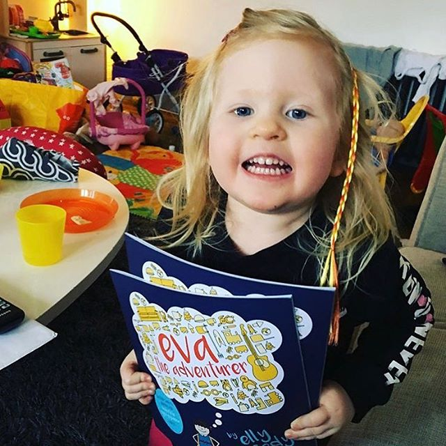 Look at this beauty! This is Lauren and apparently #evatheadventurer was a hit! I'm loving seeing all the orders go out, we're well over 100 books sold now! Amazing! We'd love to see your kidlets with our book! Tag your post with #evatheadventurer so we can see them! Honestly, you guys are the best. We love you.  #medicallyfragile #fundraisingACure #nkhcansuckit #nonketotichyperglycinemia #glycineencephalopathy #teammikaere