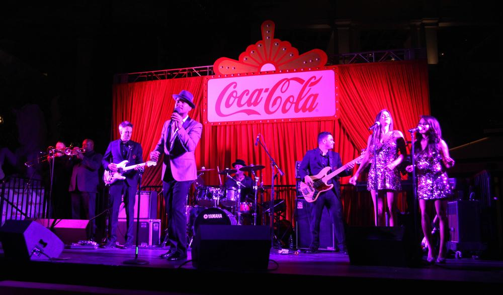 Matt Goss performs at Cinemacon 2016 @ Caesars Palace for Coca Cola.