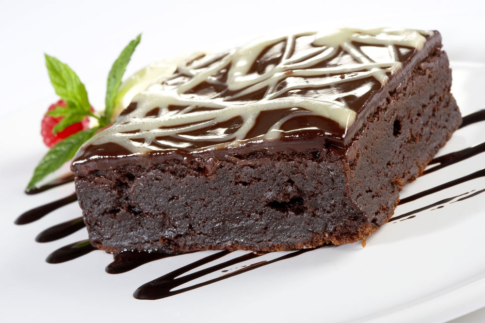 The Skinny Chef Desserts - Chocolate Brownie