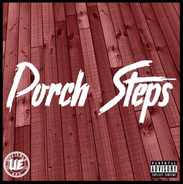 silver - porch steps