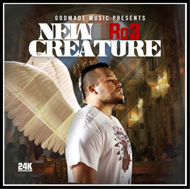 New Creature Cover Art by Robert Ankney aka Ro3