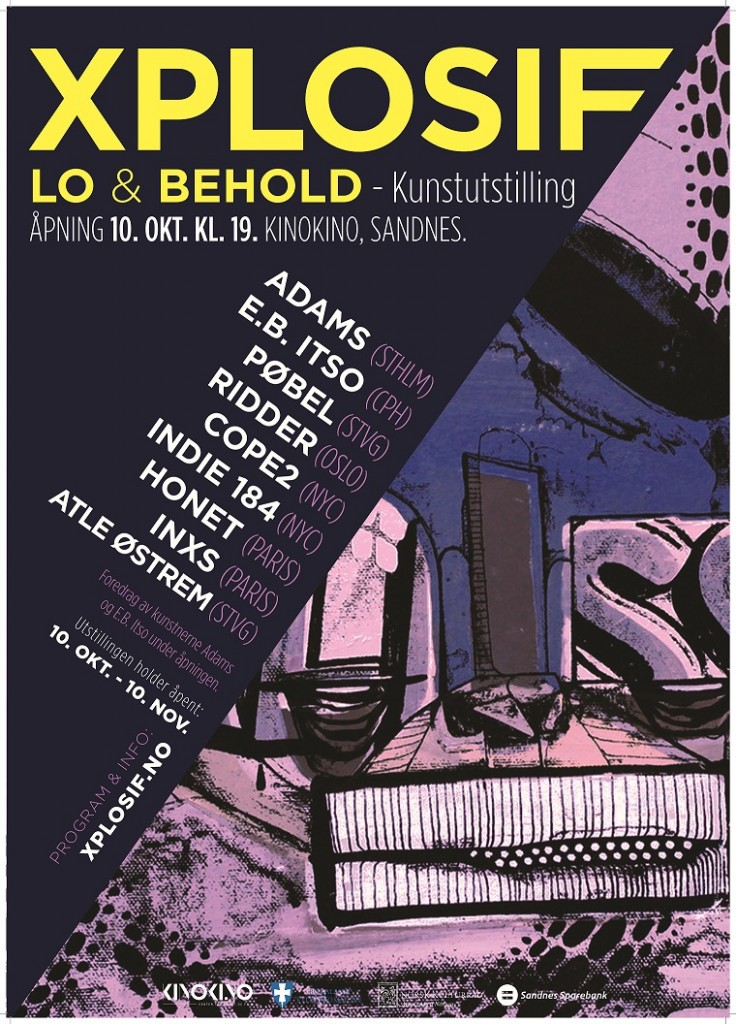 LO&BEHOLD PLAKAT